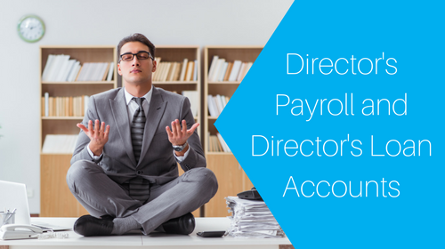 Director's Payroll and Director's Loan Accounts