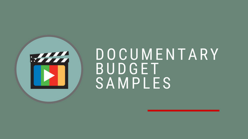 Documentary Budget Sample Pack