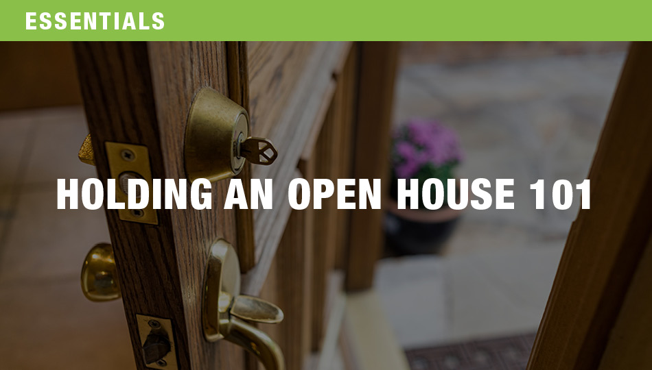 Holding an Open House 101