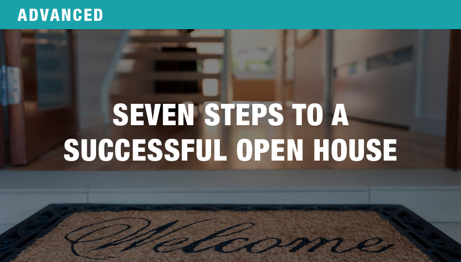 Seven Steps to a Successful Open House