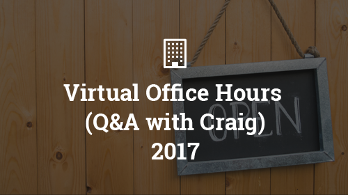 Office Hours 2017