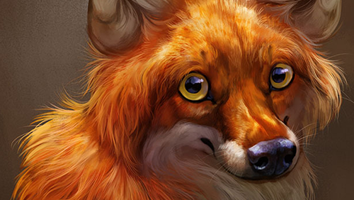 Painting Fur and Hair