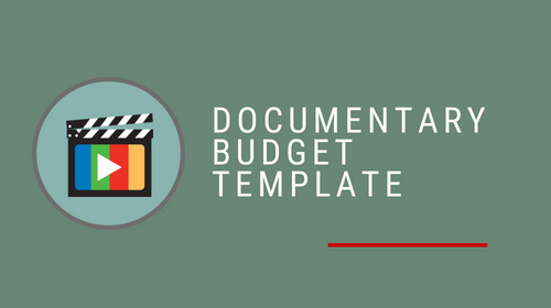 Documentary Budget Template Pack