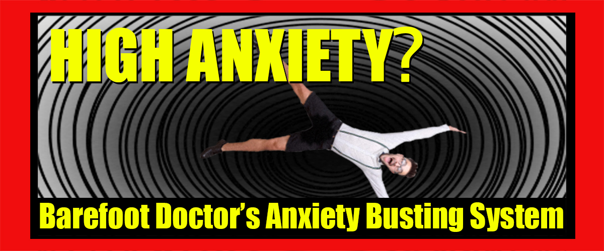 Barefoot Doctor's Anxiety Busting System