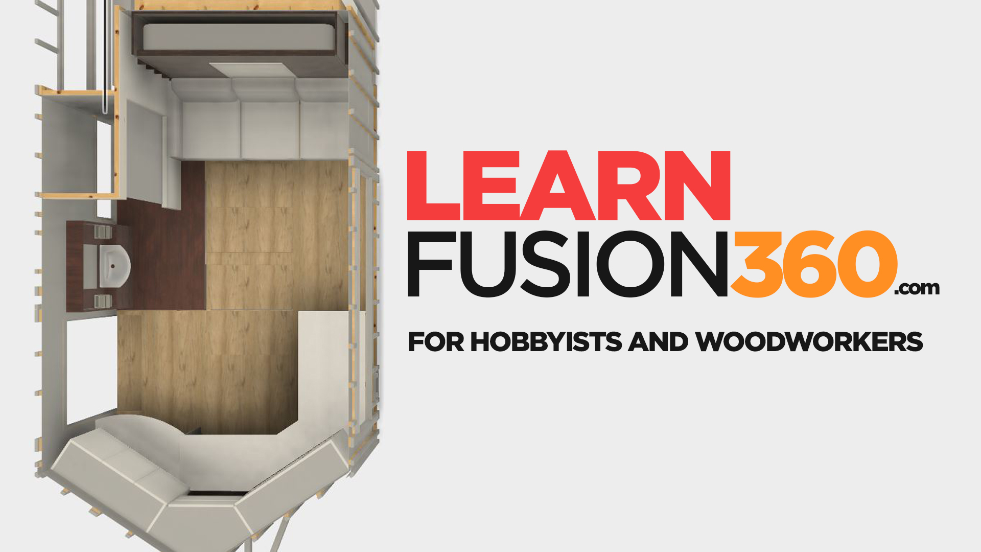 Learn Fusion 360 For Hobbyists and Woodworkers