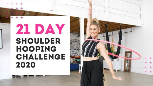 21 Day Shoulder Hooping Challenge