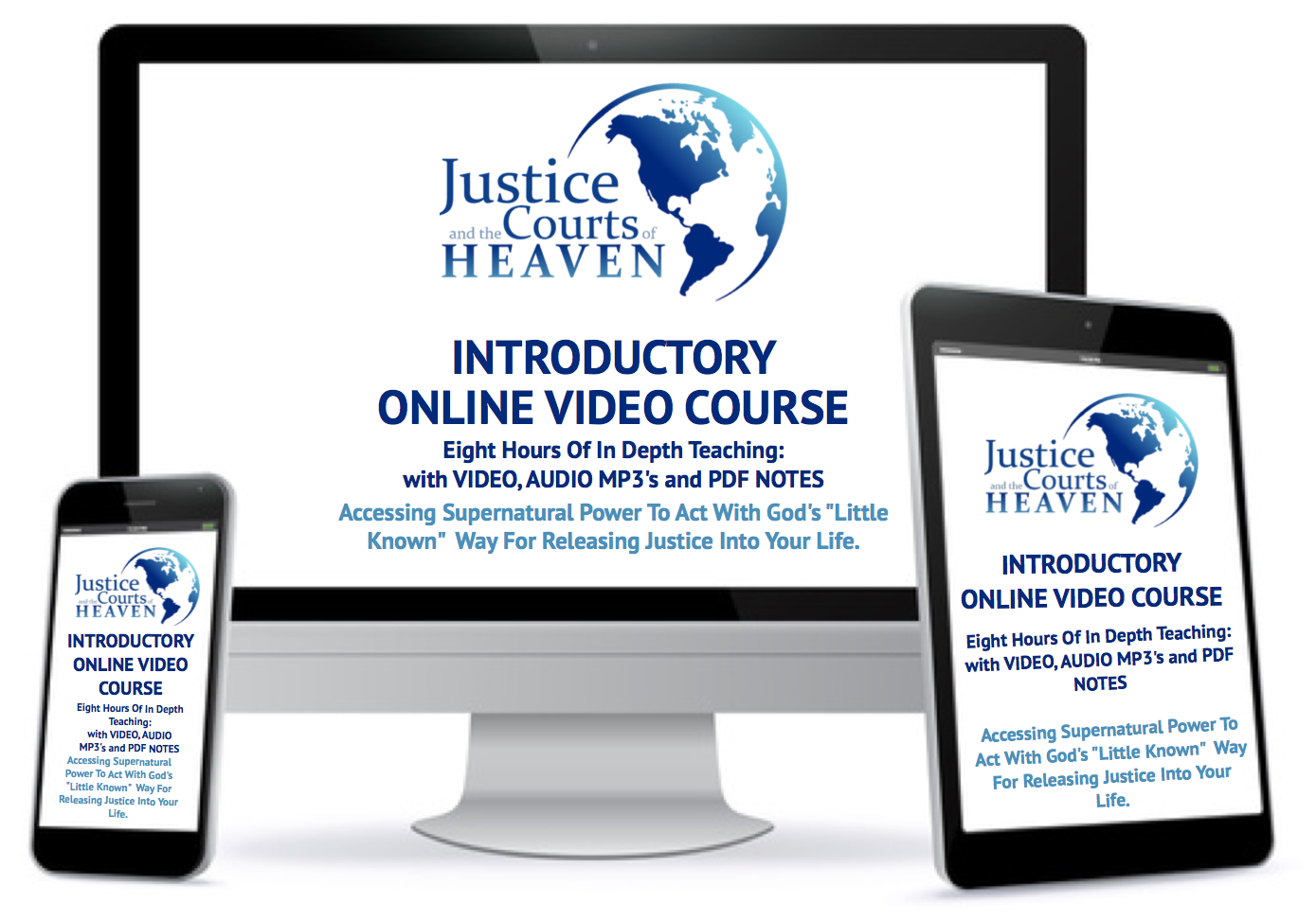 Justice and the Courts of Heaven Basic Course