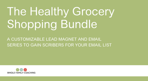Healthy Grocery Shopping Bundle (Professional)