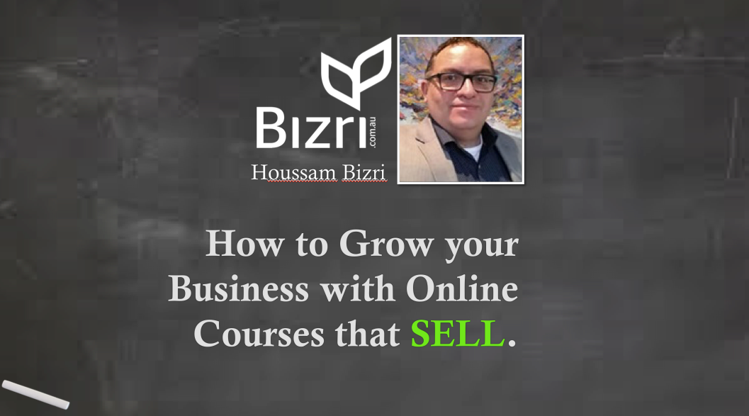 WEBINAR RECORDING: How To Grow Your Business With Online Courses That SELL.