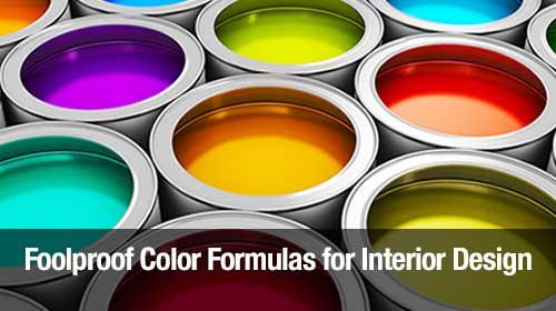 Foolproof Color Formulas for Interior Design