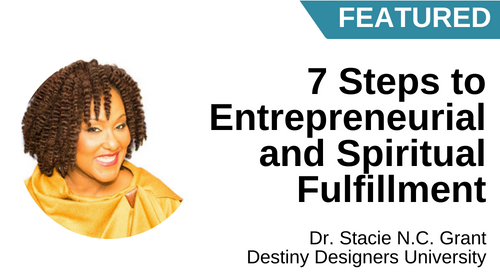Image of Your 7 Steps to Entrepreneurial and Spiritual Fulfillment course