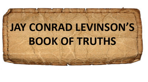 Book of Truths - Lessons in Living by Jay Conrad Levinson