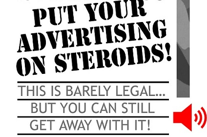 Put Your Advertising on Steroids! - AudioBook