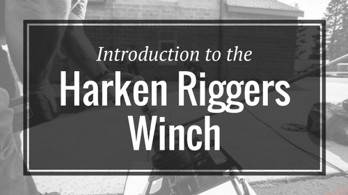 Introduction to the Harken Riggers Winch