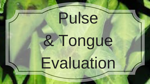 Pulse and Tongue Evaluation 2017