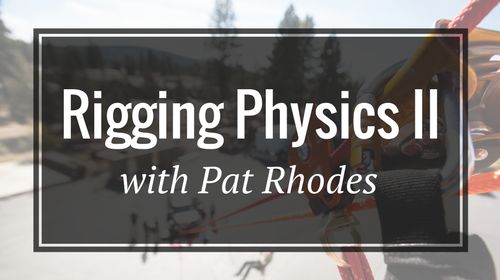 Rigging Physics II with Pat Rhodes