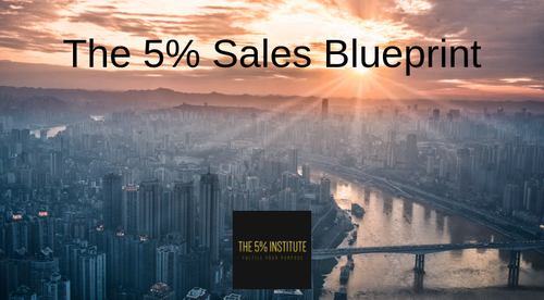 The 5% Sales Blueprint