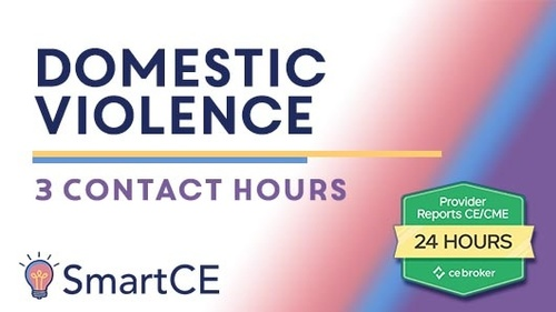 Domestic Violence: 3 Contact Hours /20-571431