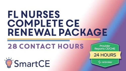 FL Nurses - Complete CE Renewal Package: 28 Contact Hours /20-577413