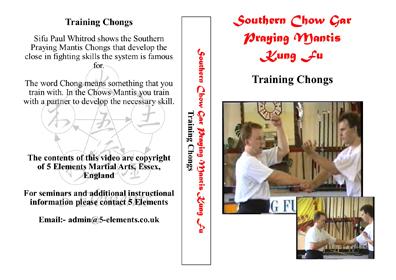 Training Chongs - Practice Drills