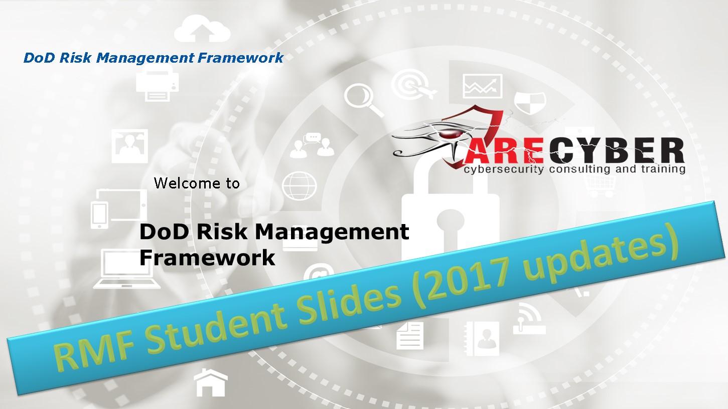 RMF Student Slides (2017 updates)