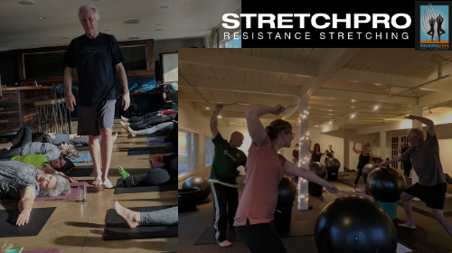 Flow, Drum, Dance, and Stretch with Dave Stevens