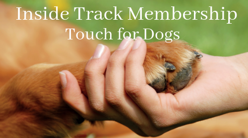 Touch for Dogs: Inside Track Membership