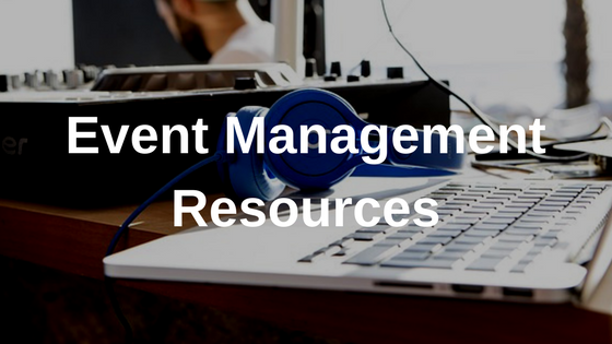 Event Management Resources
