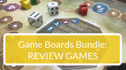 Science Review Game Board Bundle