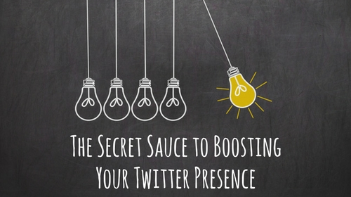 The Secret to Boosting Your Twitter Presence