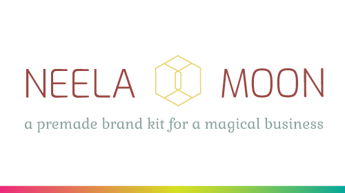 Neela Moon - Pre-Made Brand Kit