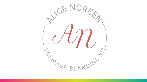 Alice Noreen - Pre-Made Brand Kit
