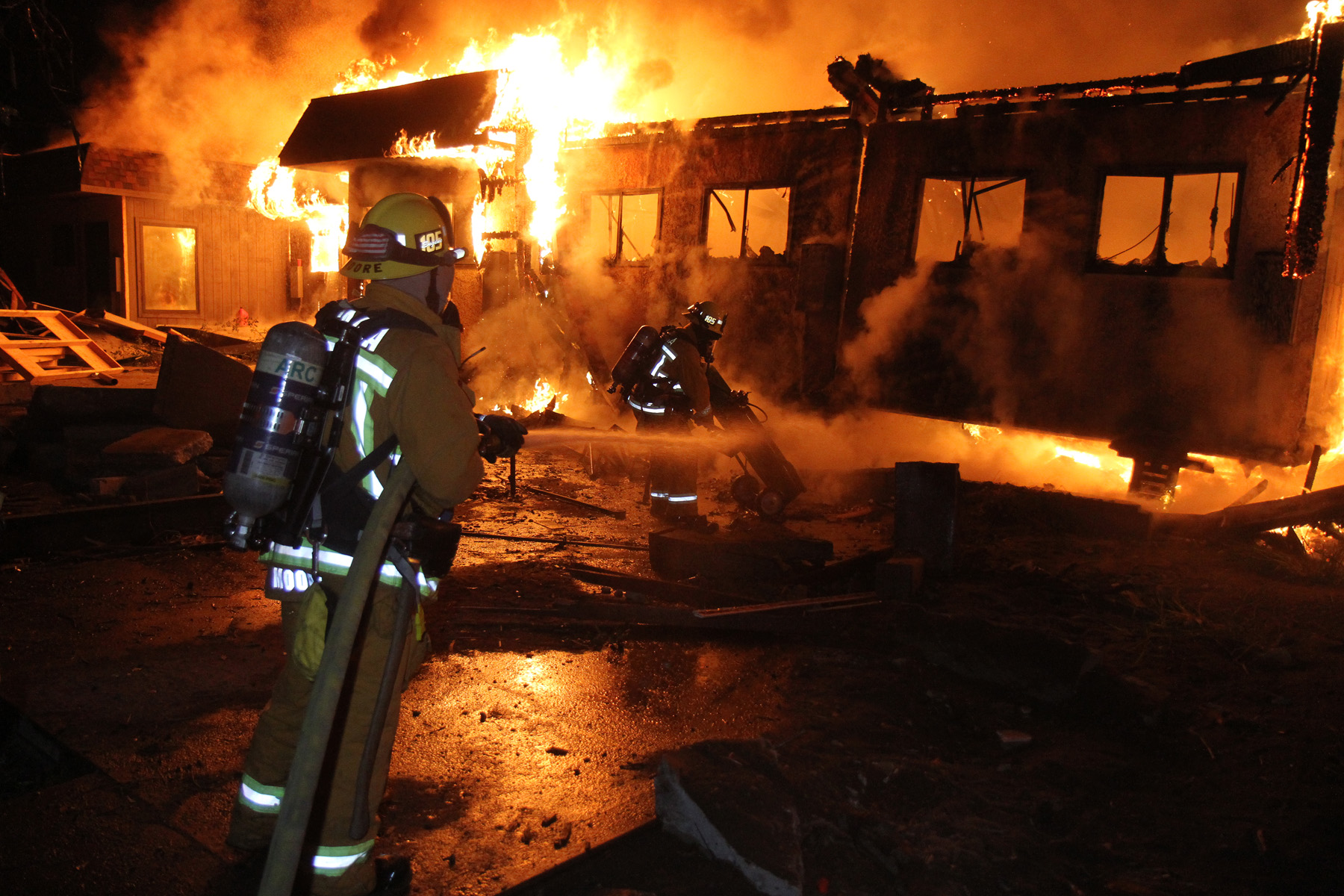 Fire Safety in the ASC
