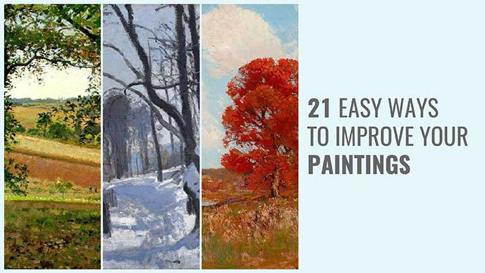 [EBook] 21 Easy Ways To Improve Your Paintings