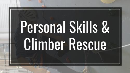 Personal Skills & Climber Rescue
