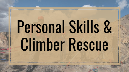 Personal Skills & Climber Rescue