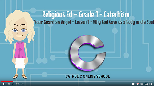 Your Guardian Angel (1st Grade) Classes