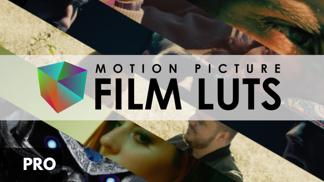 Motion Picture Film LUTs - Pro