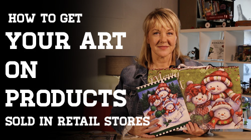 How to Get Your Art on Products Sold in Retail Stores