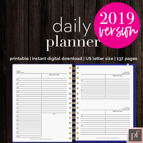 Template | Daily Planner