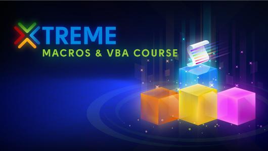 Xtreme Macros & VBA Online Course