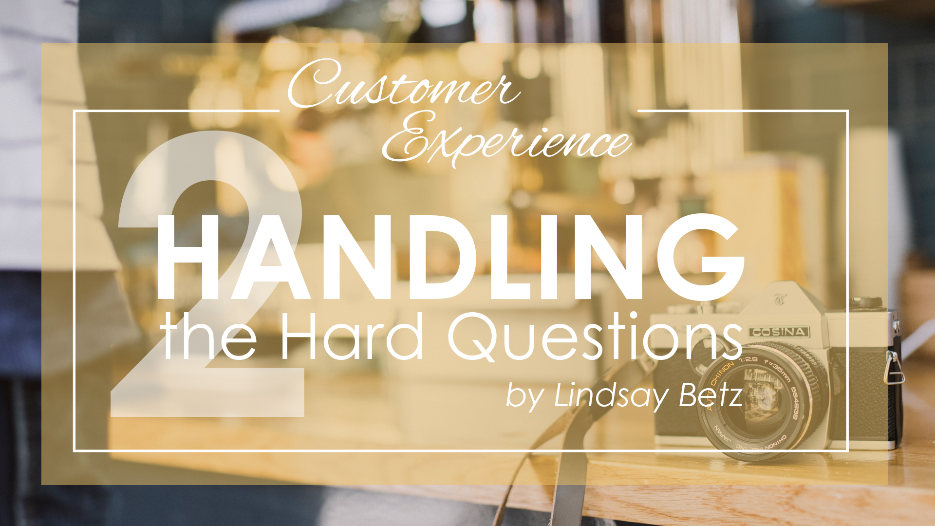 Handling the Hard Questions 2