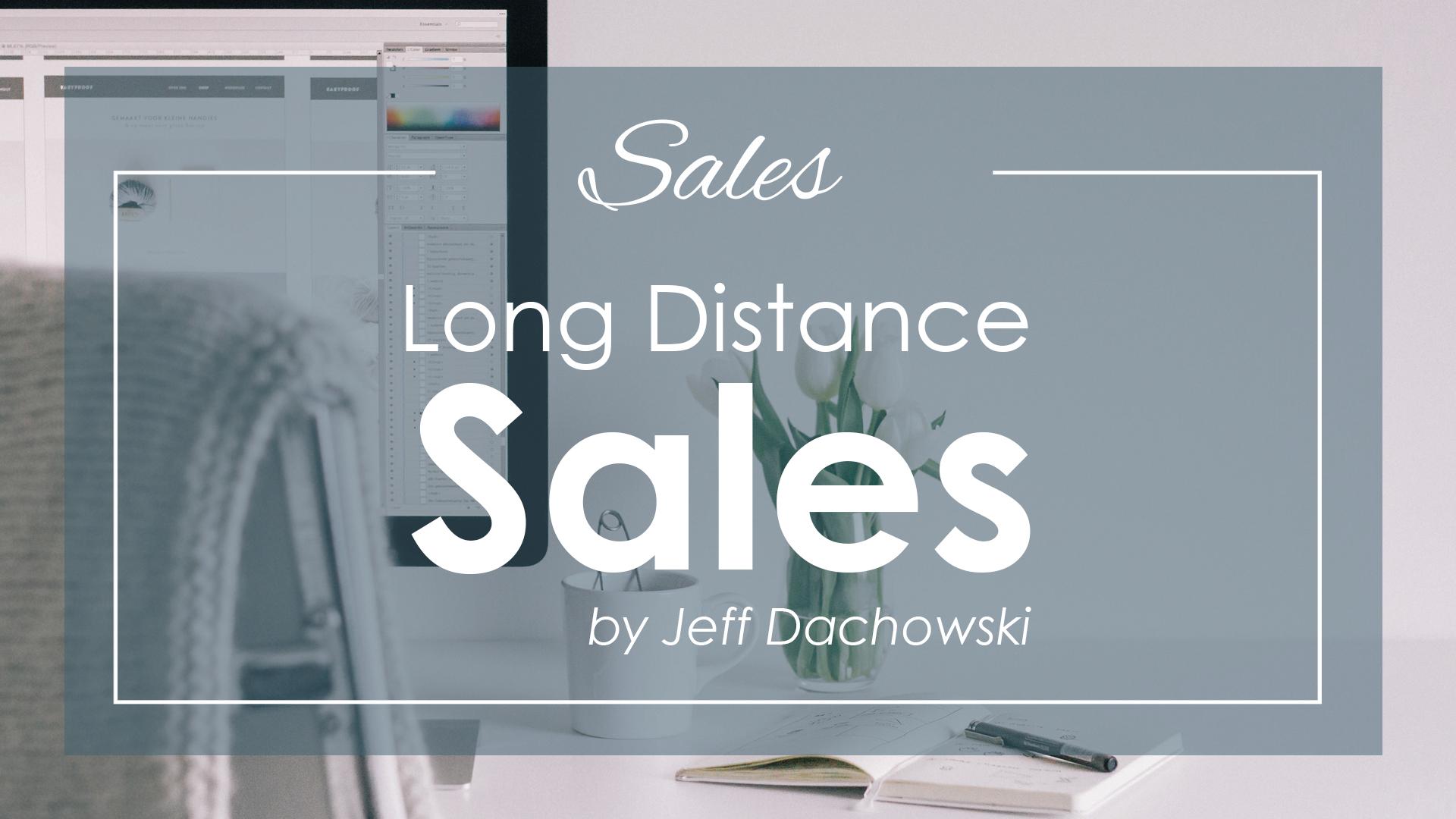 Long Distance Sales