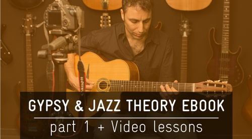 Gypsy and Jazz Theory eBook Part 1 + Video lessons