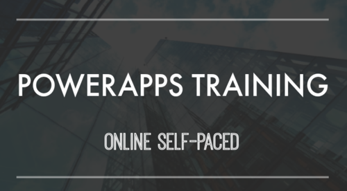 PowerApps Training (Self-paced)