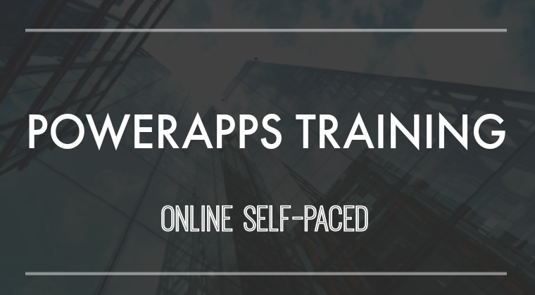 powerapps advanced training