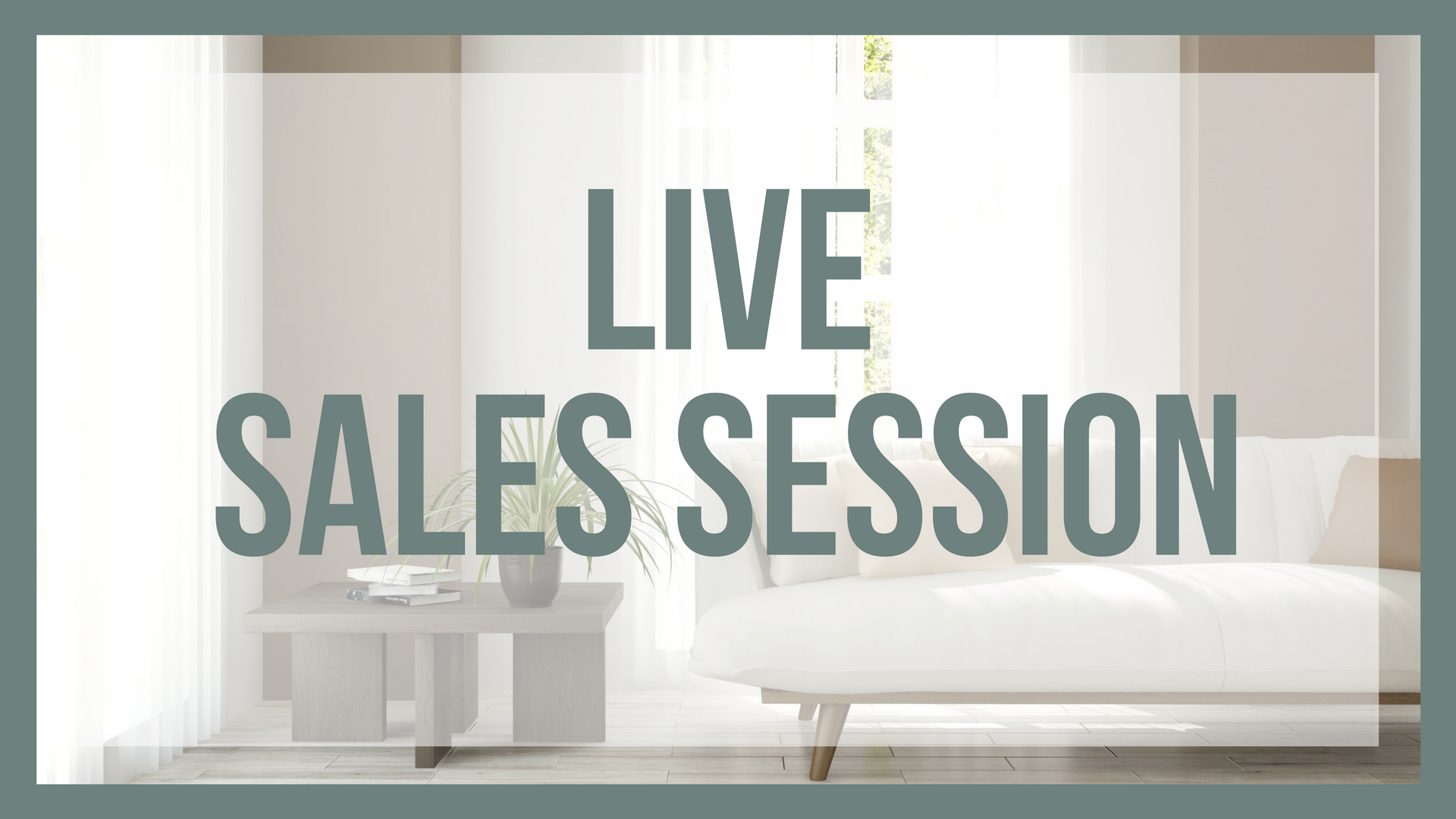 Live Sales Session