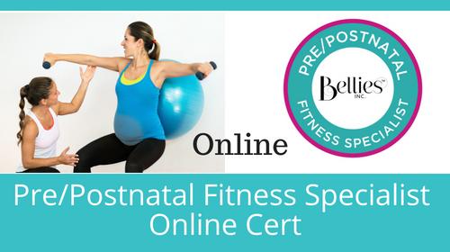 Online Pre/Postnatal Fitness Specialist Certification