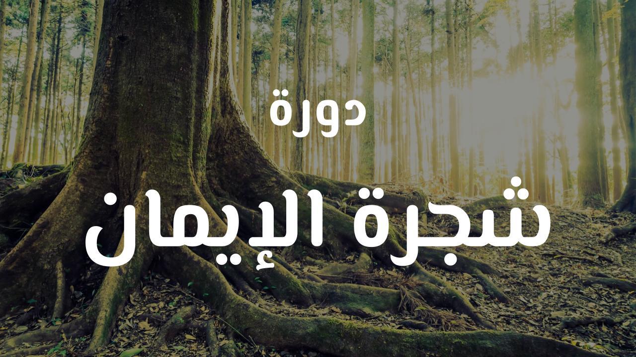 دورة شجرة الإيمان للشيخ عبد الرزاق البدر حفظه الله