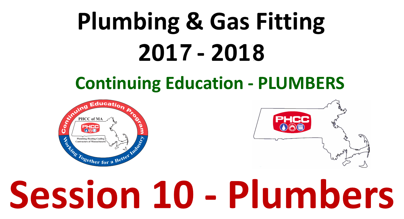 PHCC of MA Continuing Education Online